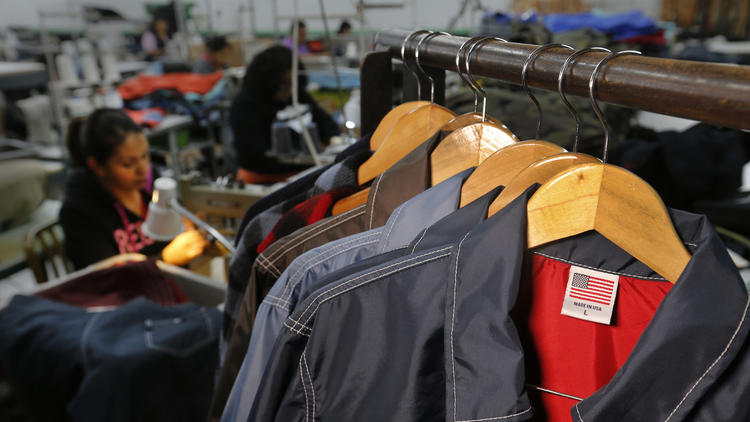 fashion industry made in America