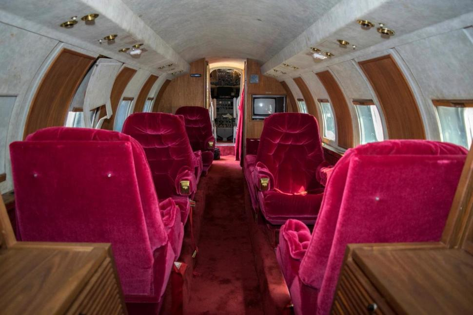 Elvis Private Jet