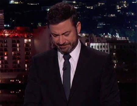 Jimmy Kimmel Talks Tearfully About Obamacare