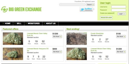 The New Website that is like eBay for Marijuana