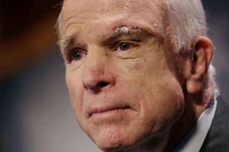 For the second time this year, Senator John McCain appears to have preserved the signature domestic achievement of the man who once kept him from the presidency.