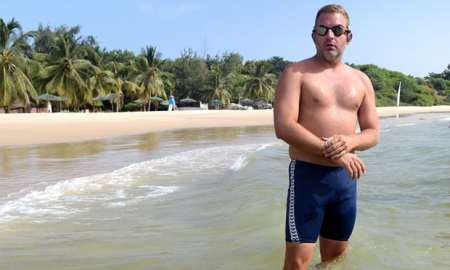 One man's deranged attempt to swim the Atlantic. www.businessmanagement.news