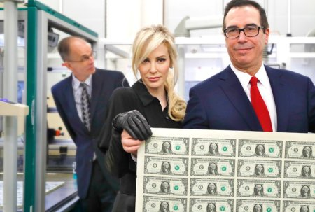 Steve Mnuchin likes looking like a James Bond villain. www.businessmanagement.news