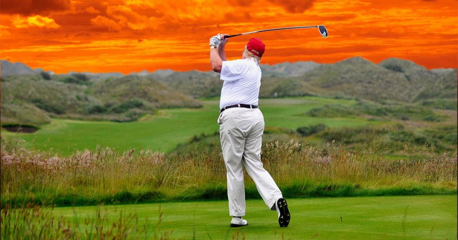 Trump Golf 2017. www.businessmanagement.news