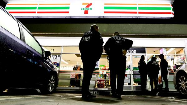Immigration Officials Raid 7-11 Stores in Search of Illegal Workers