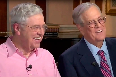 Koch Brothers Takeover of America. www.businessmanagement.news