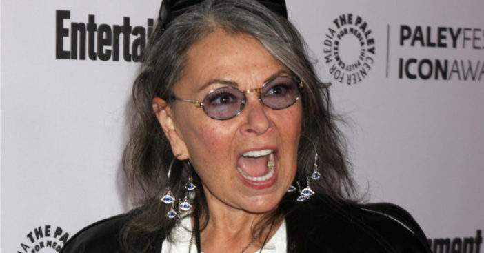 Roseanne-Barr-loses her mind