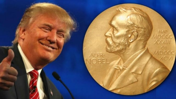 Did you hear the one about the Republicans in Congress that nominated Donald Trump for a Nobel Peace Prize? www.businessmanagememt.news
