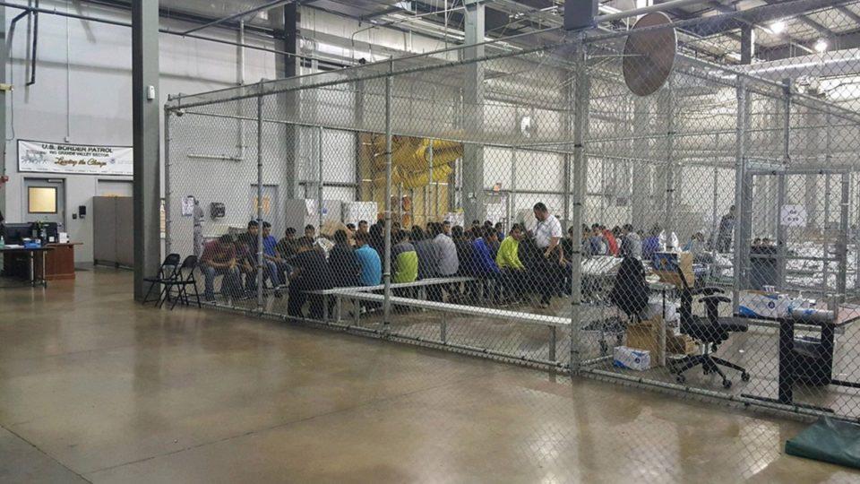 Children in cages. www.businessmanagement.news