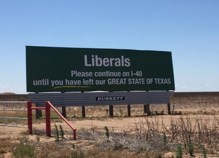 Texas Shows its True Heart with a Simple Billboard