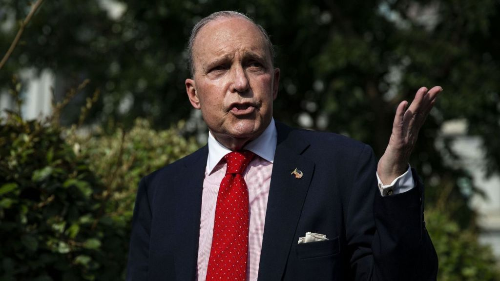 Trump Advisor Larry Kudlow Hosted White Nationalists at his Home. Is Kudlow Racist, too?