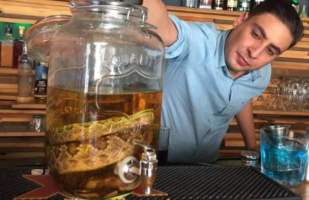 Mexican Snake Cocktail Slithers Across Border. www.businessmanagement.news