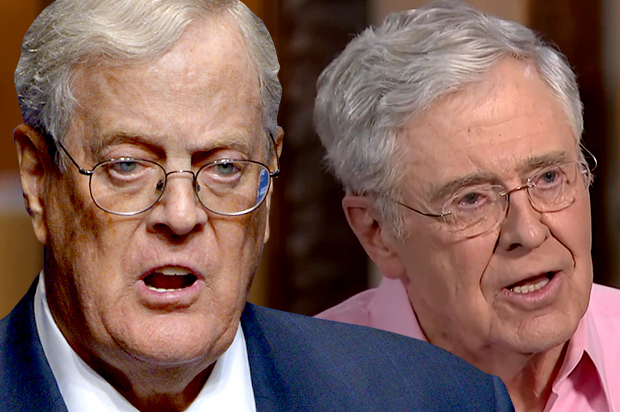 Koch Donor Network Will Not Support Trump in 2020