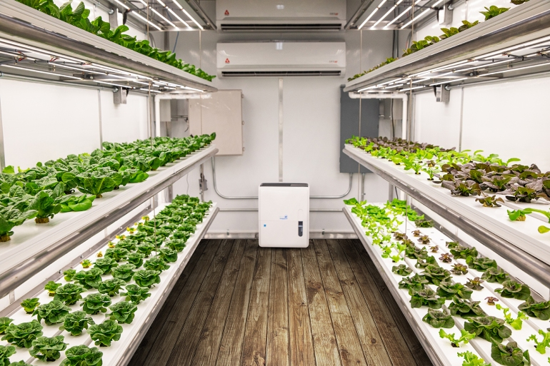 GrowPod Solutions portable micro-farm